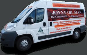 Jonny Oilman with his Van